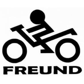 BikerFreund Aufkleb.<br>